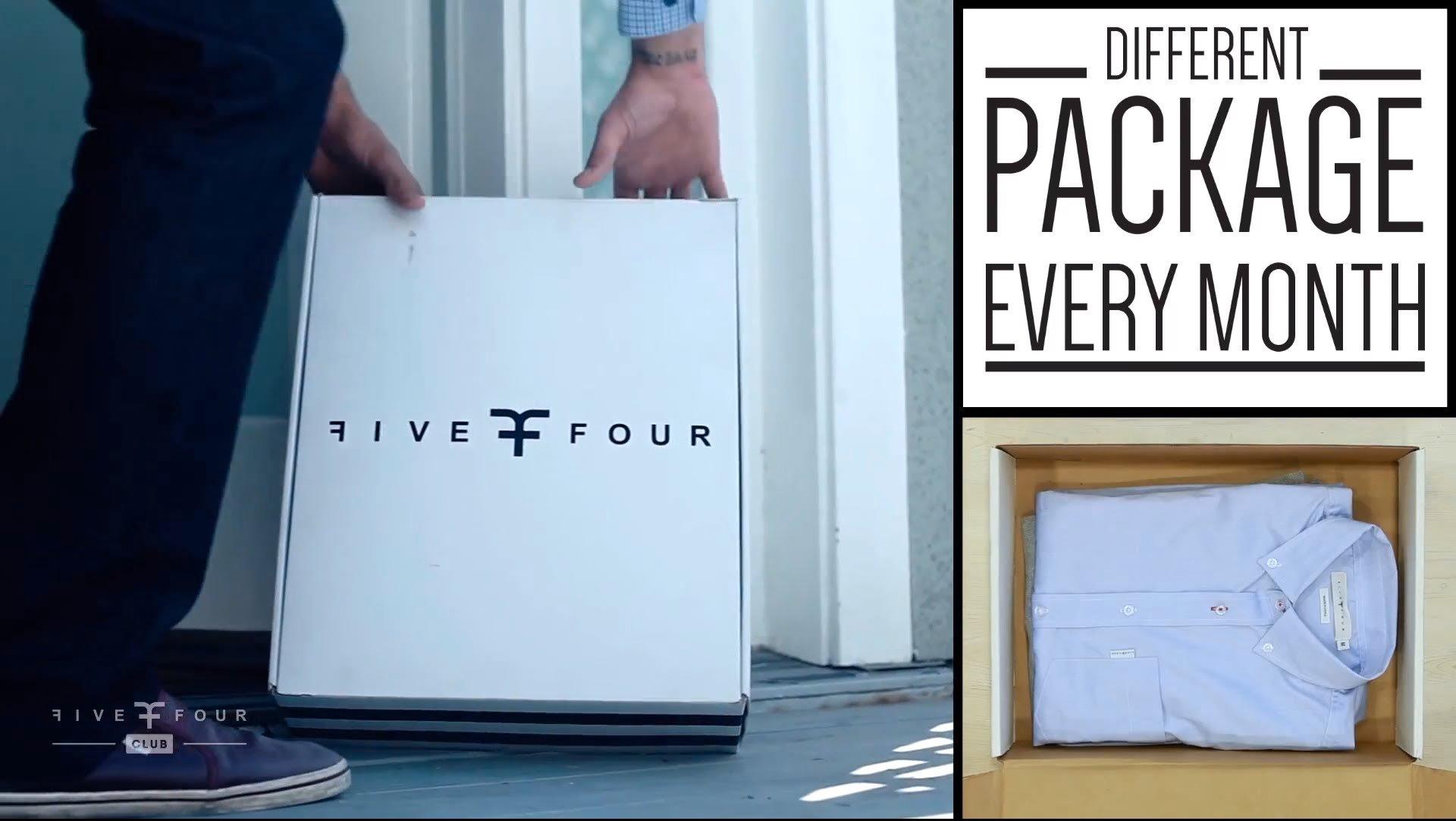Men's Fashion Subscription- FiveFour