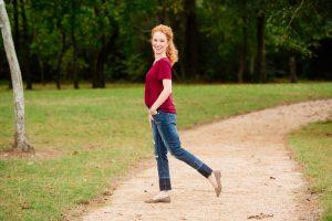 Just USA - Ailsa Distressed Released Hem Slim Straight Leg Jeans