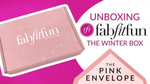 FabFitFun-Unboxing-ThePinkEnvelope