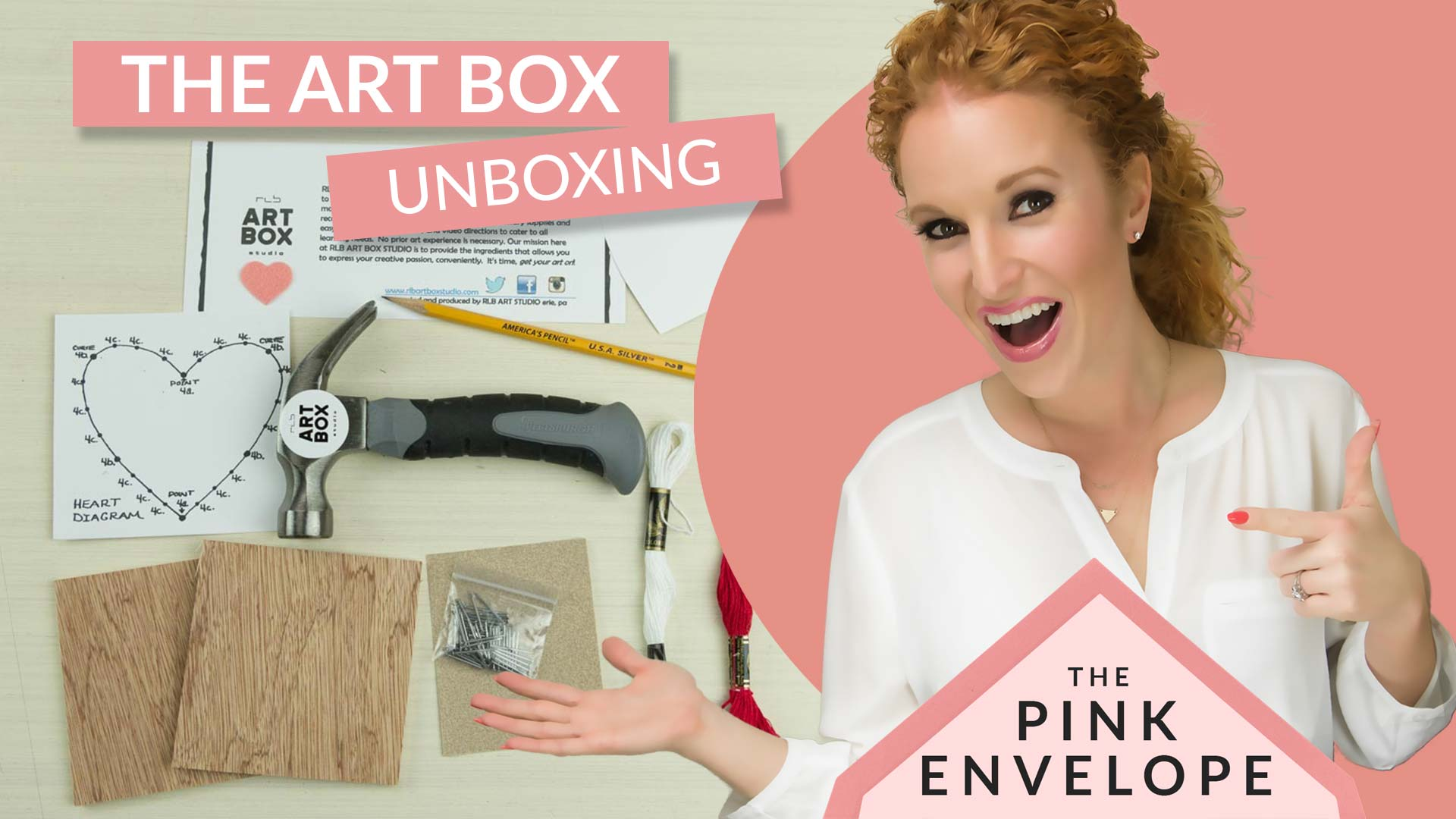 Arts & Crafts Subscription Box – RLB Art Box Studio Review