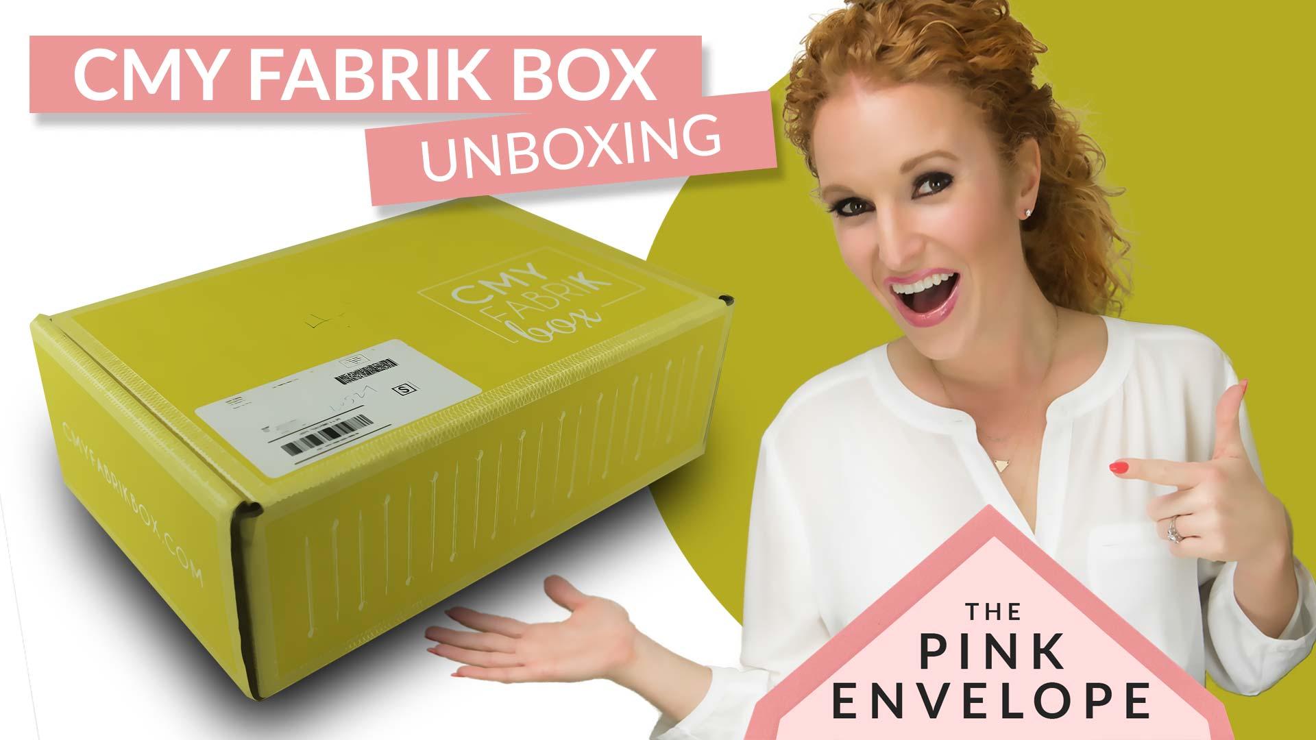 CMYfabriK Box Review – DIY Craft Subscription Box