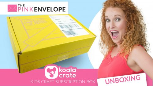 Koala Crate Review Unboxing