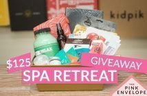 Spa Retreat Basket Giveaway