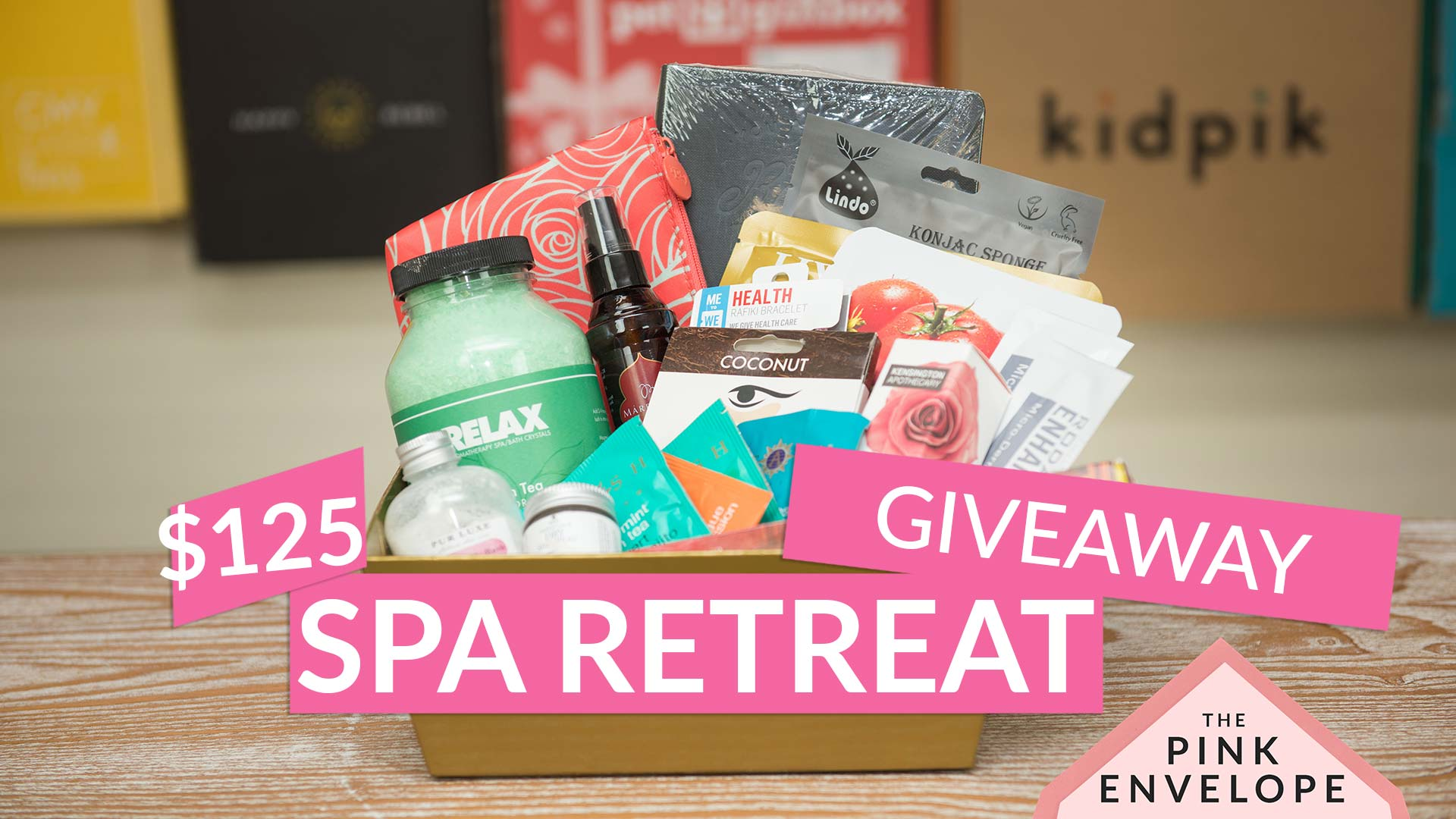 Spa Retreat Gift Basket Giveaway – $125 Value