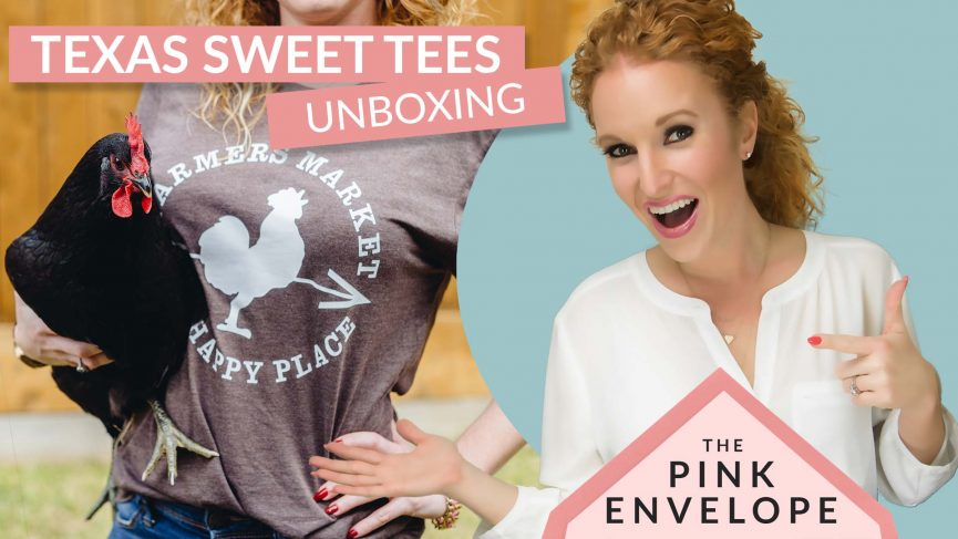 TexasSweetTees-Unboxing