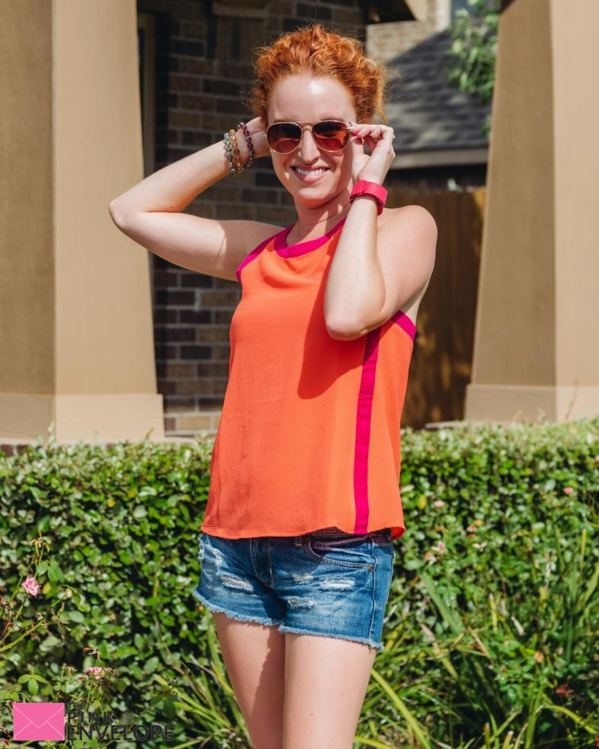 Lombard Zip Back Halter Blouse by Stitch Fix