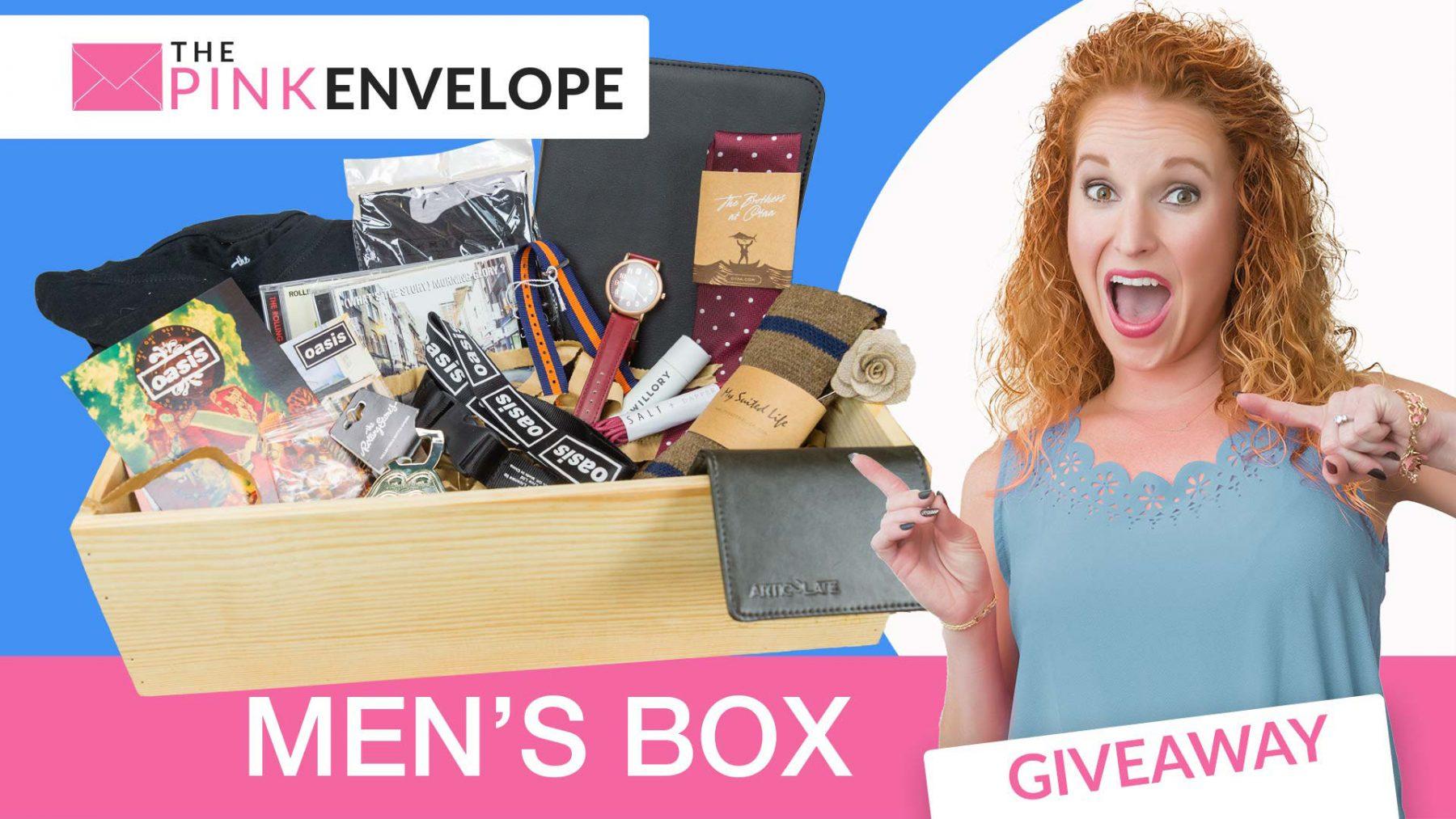 Men's Giveaway