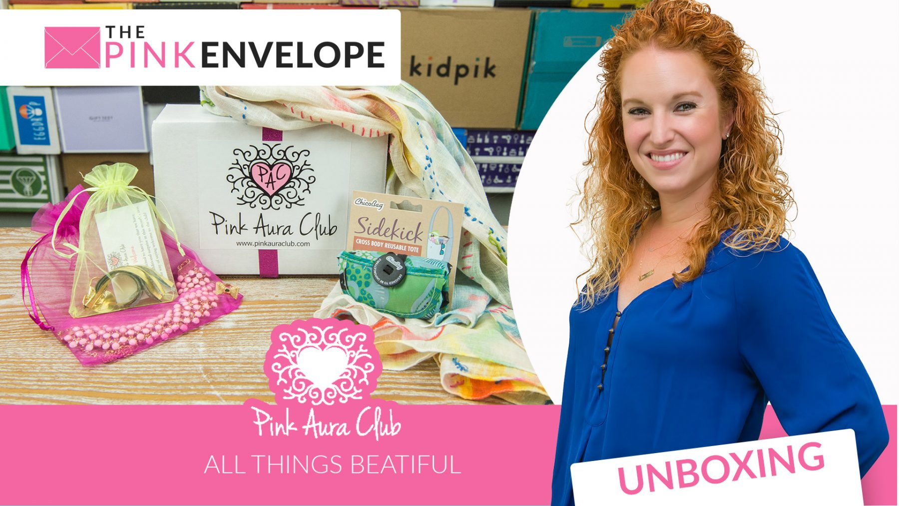 Pink Aura Club – Accessories Subscription Box