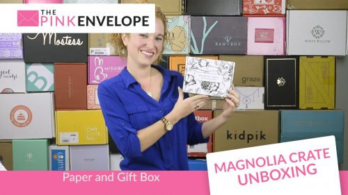 Magnolia Crate - Stationery Subscription Box