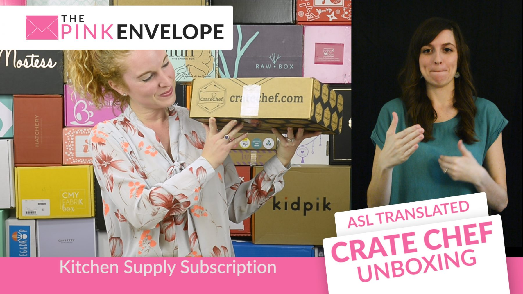 Crate Chef – Cooking Subscription Box with ASL Translation