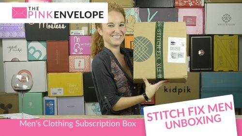 Stitch Fix Mens Box - Spring Box