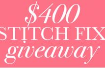 Stitch Fix Gift Card Giveaway