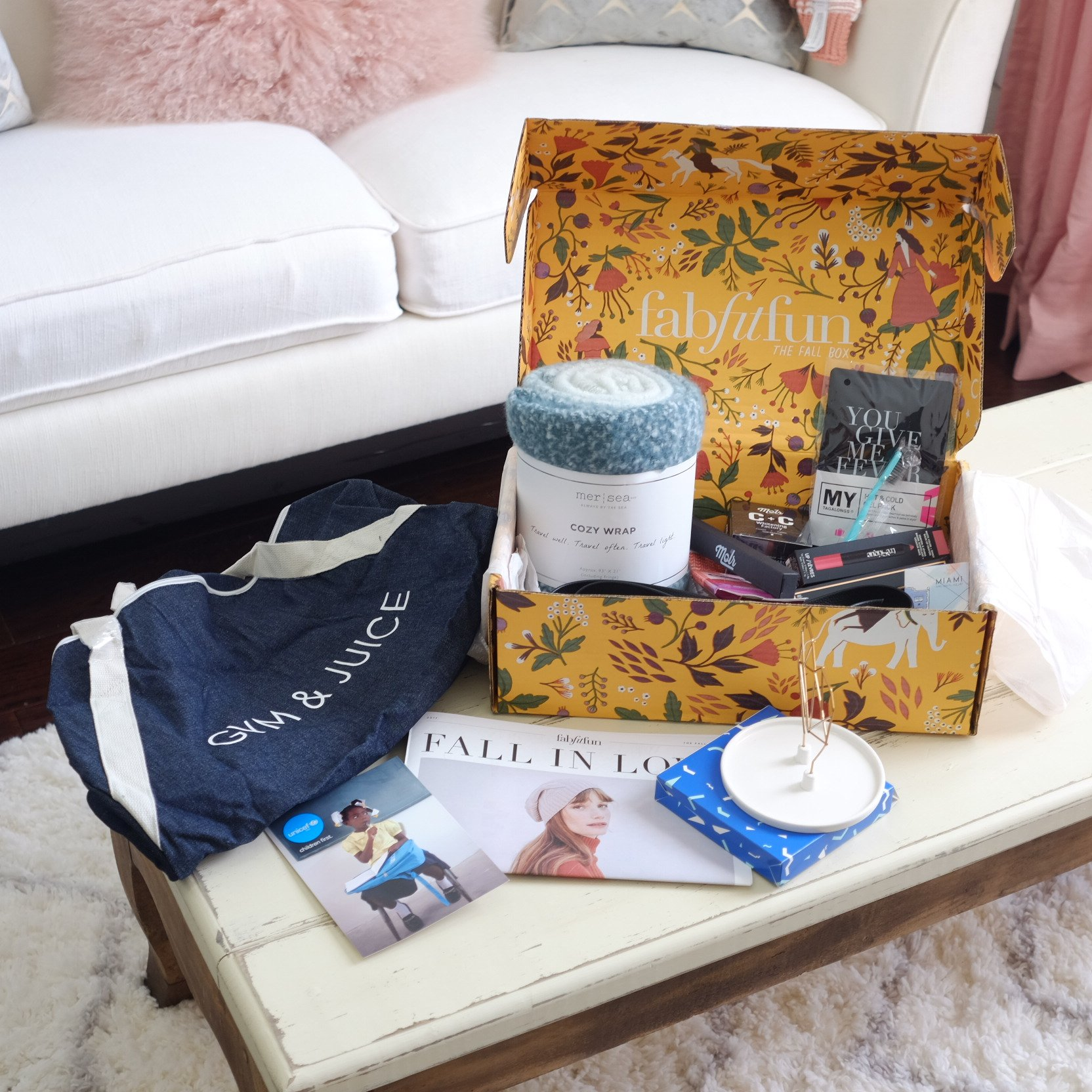 FabFitFun Box Reveal Fall 2017