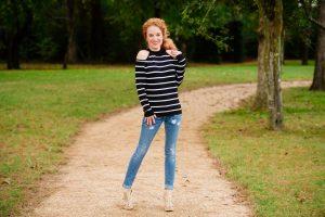 Cotton Emporium - Felicitie Cold Shoulder Pullover