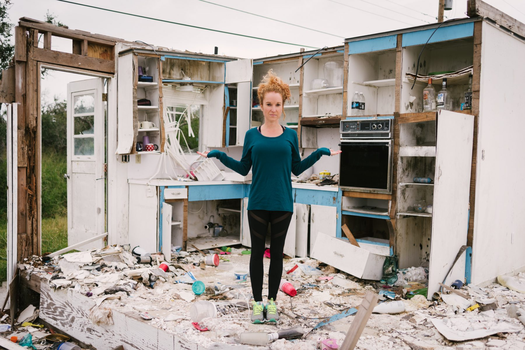 Peace Amongst Destruction with YogaClub + Rockport, TX – YogaClub Gives Back