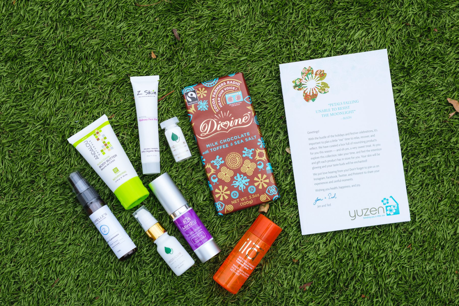 Eco Friendly Spa Products – Yuzen Box