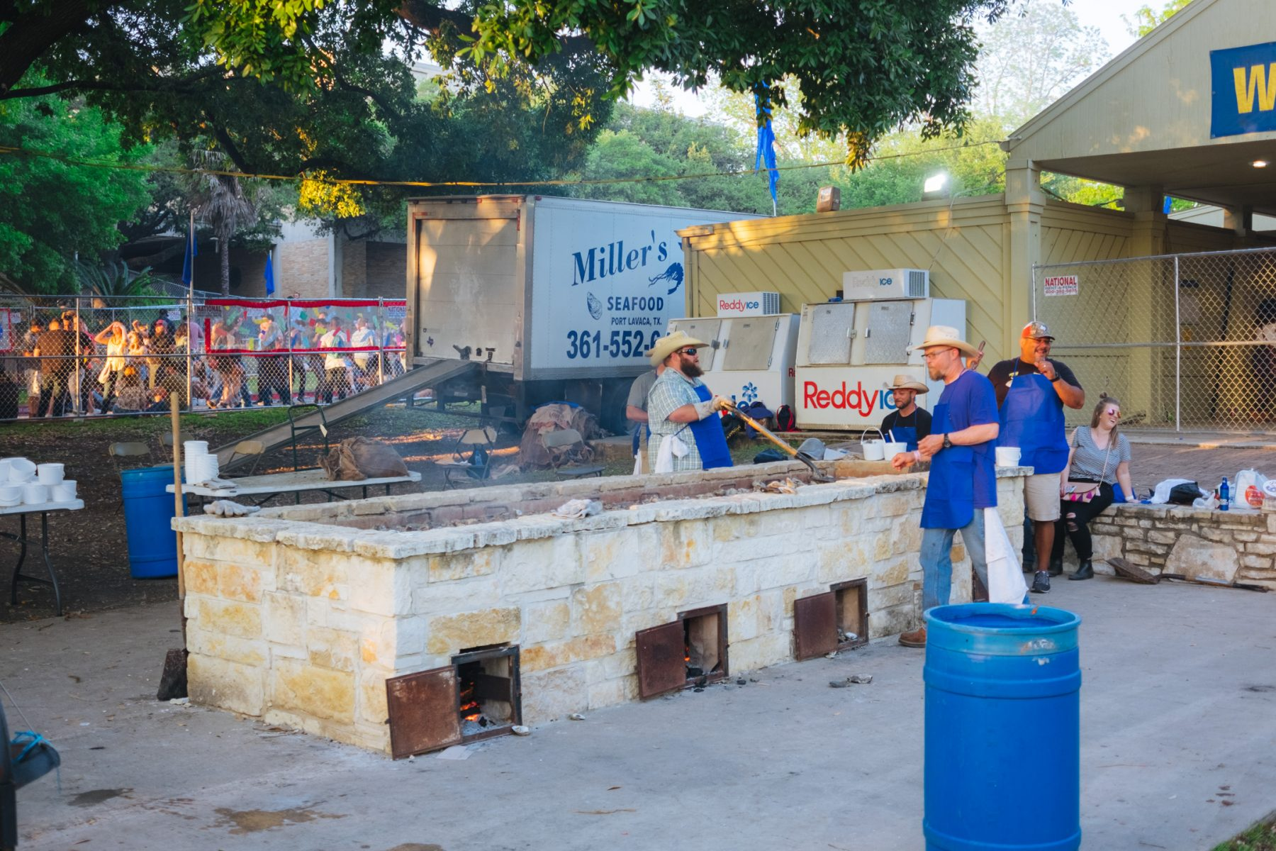 What is Oyster Bake – Fiesta San Antonio