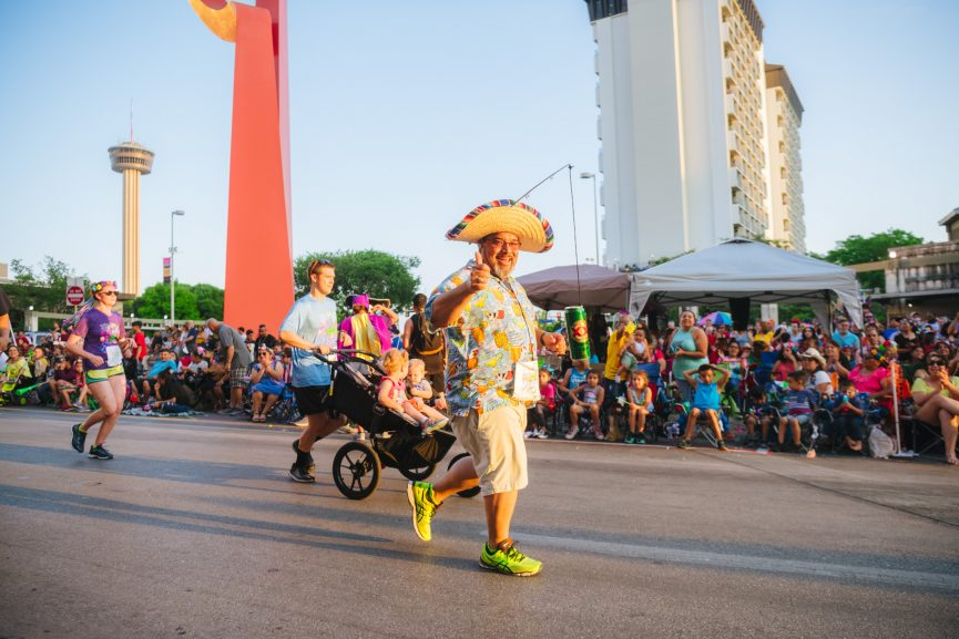 Fiesta Flambeau in San Antonio