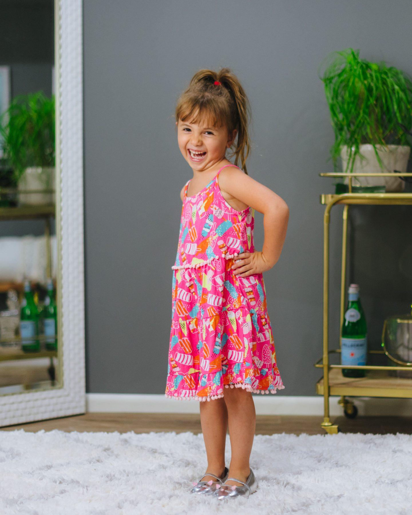 DesignHistory Tiffany Pom Pom Skater Dress