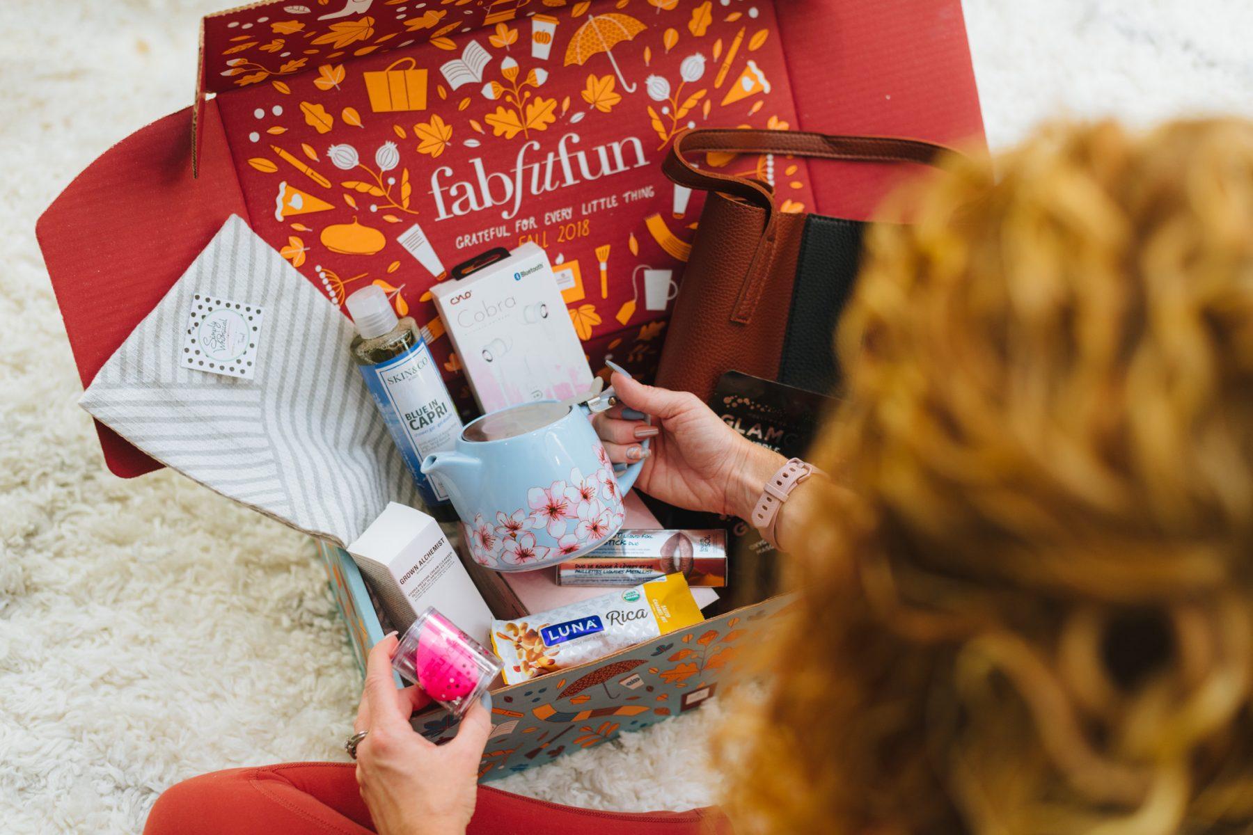 FabFitFun Add ons + Fall 2018 Box