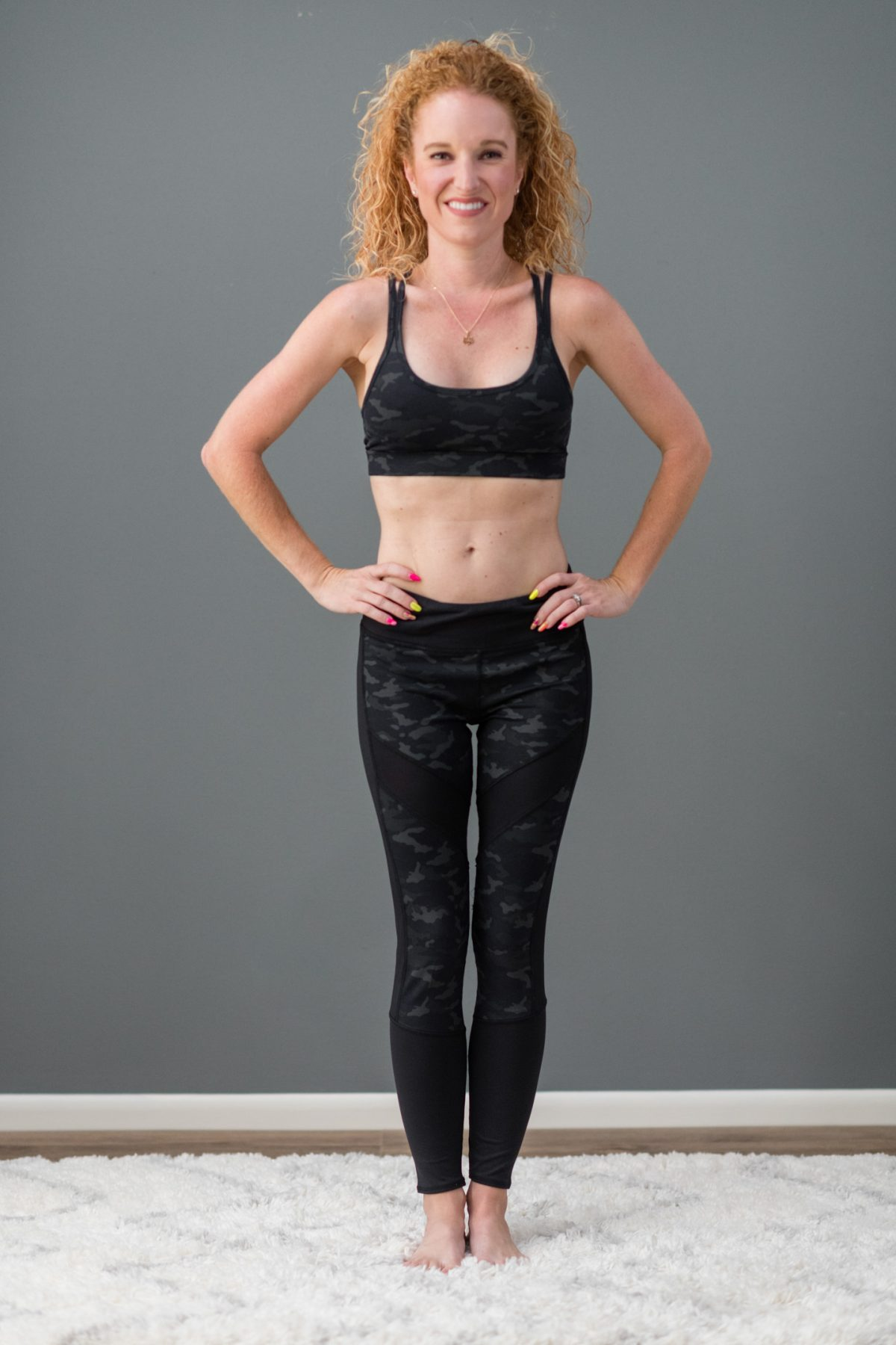 Threads 4 Thought Lotus Sports Bra in Black Camo