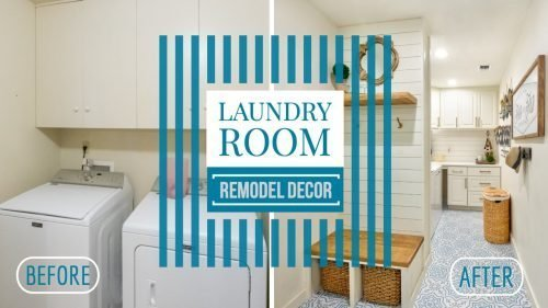 Laundry Room Remodel Decor Before and after photos