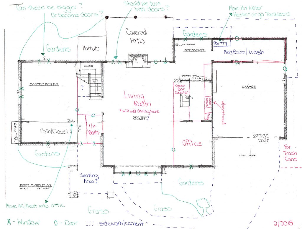 How to draw a home sketch