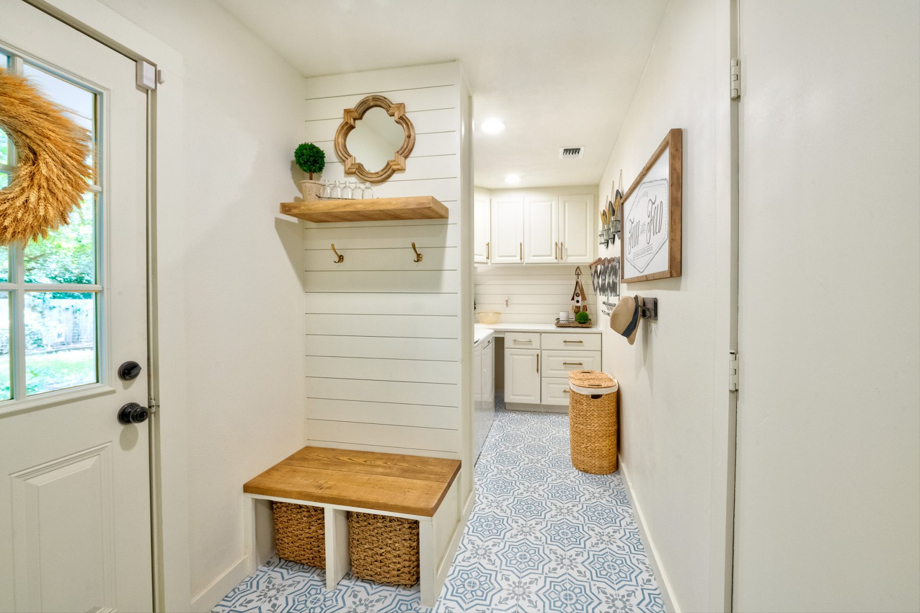 Mud Room Makeover