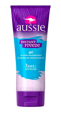 Aussie Instant Freeze hair gel
