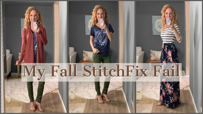 My Fall Stitch Fix Clothing Box – I Think It's a Fail