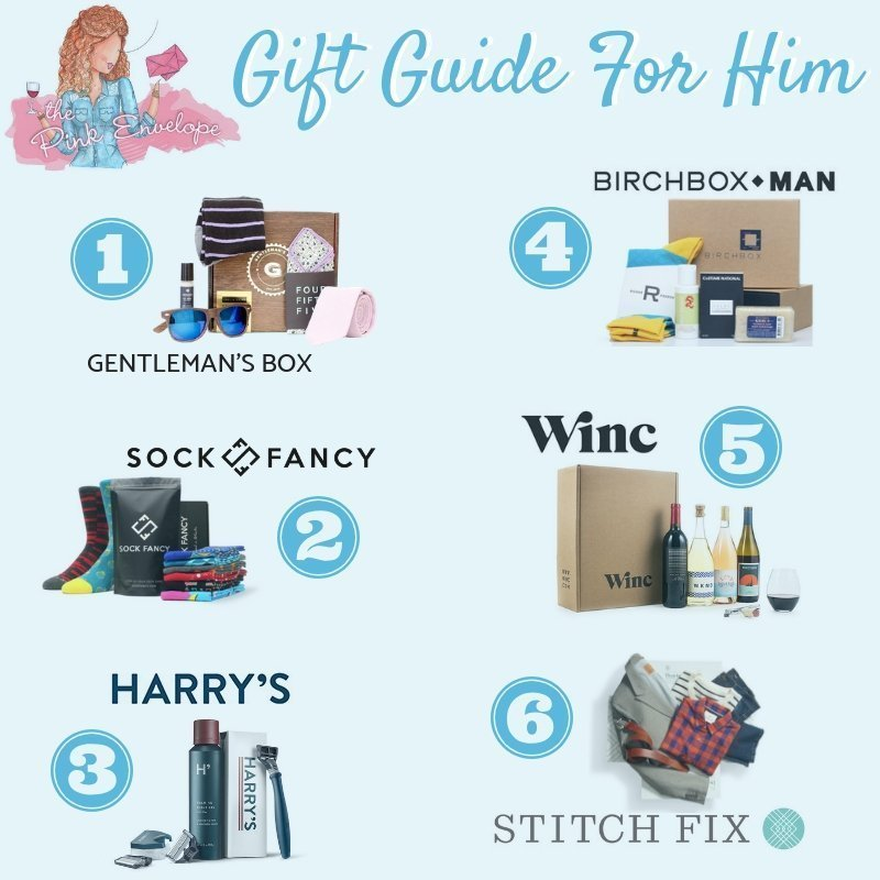 Subscription Box Gift Guide for Him