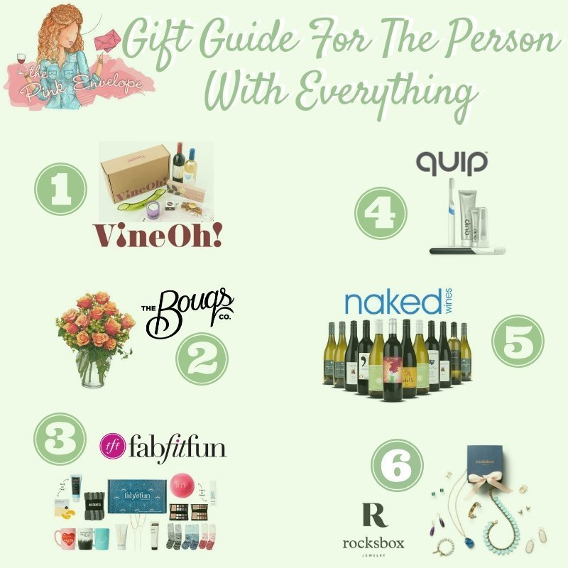 Holiday Gift Guide for The Person Who Has Everything