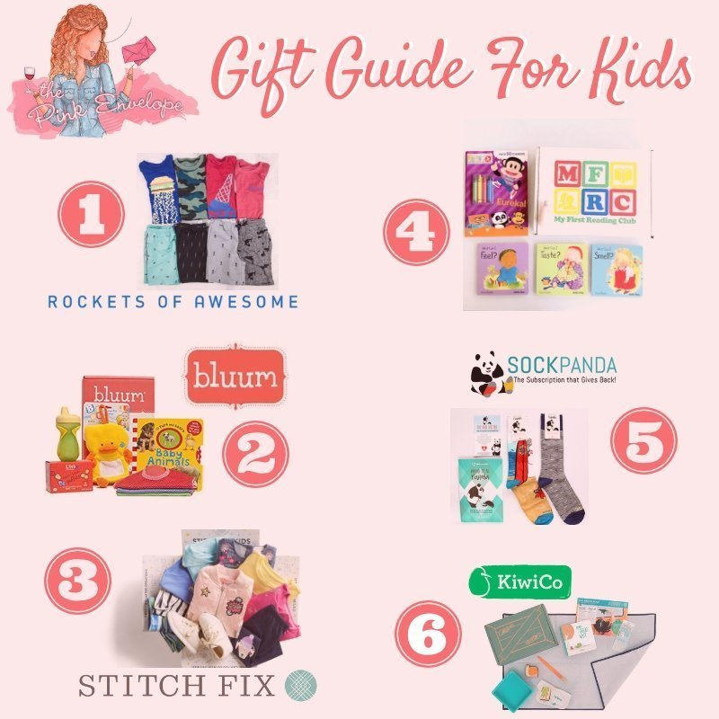 Subscription Box Gift Guide for Kids