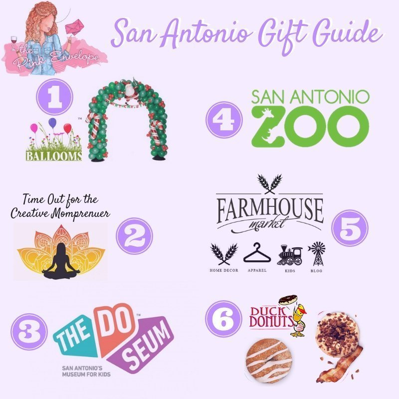 Holiday Gift Guide for San Antonio TX