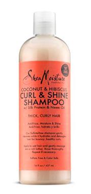 Shea Moisture Curl & Shine Shampoo