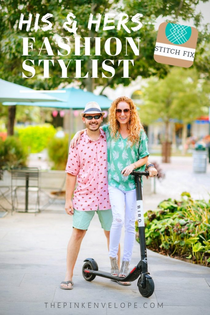 His & Hers Fashion Stylist with Stitch Fix for Men and Women.  #stitchfix
