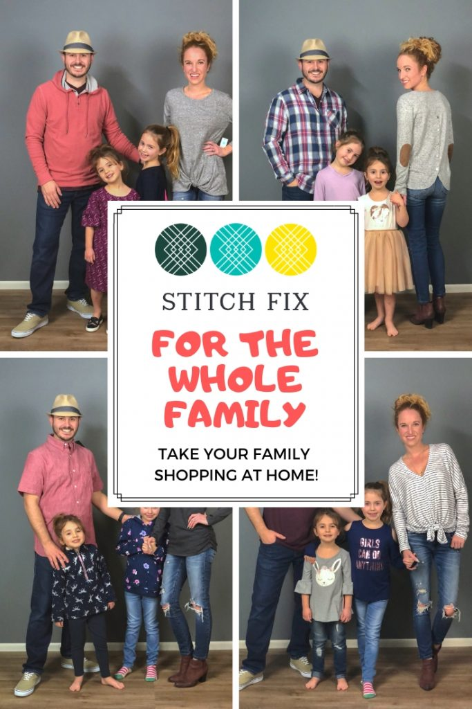 Stitch Fix Family - Take your Entire Family Clothes Shopping at Home!  #stitchfix