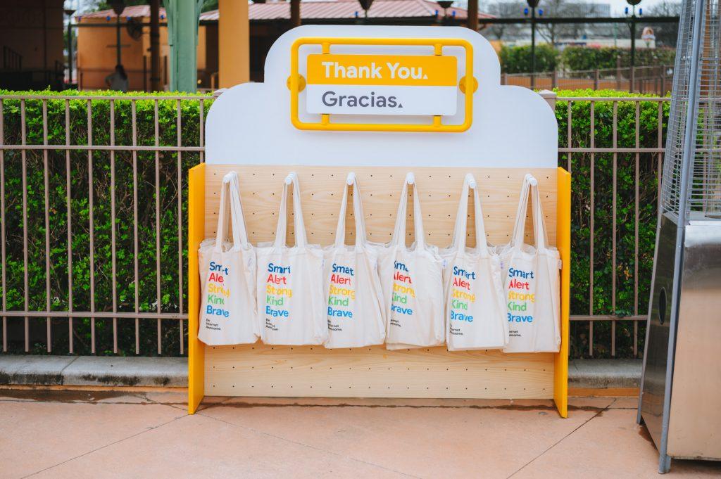 Google swag bags
