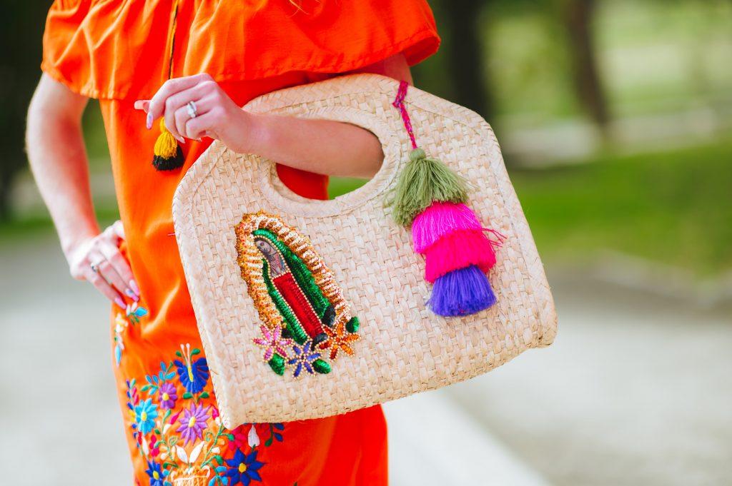 Fiesta Straw Handbag